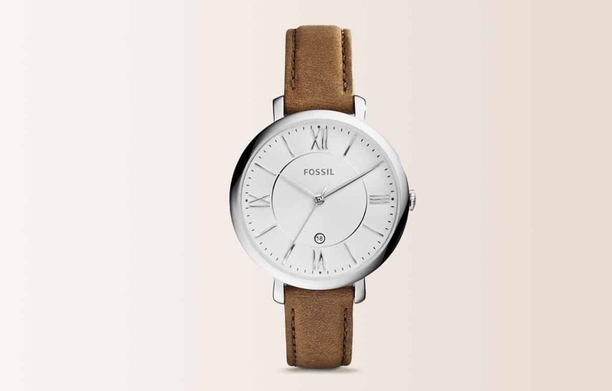 Módní hodinky Fossil z edice Jacqueline