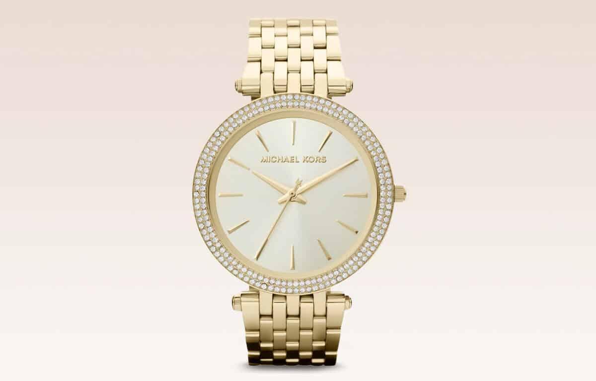 Zlaté dámské hodinky Michael Kors MK3190 z edice Darci