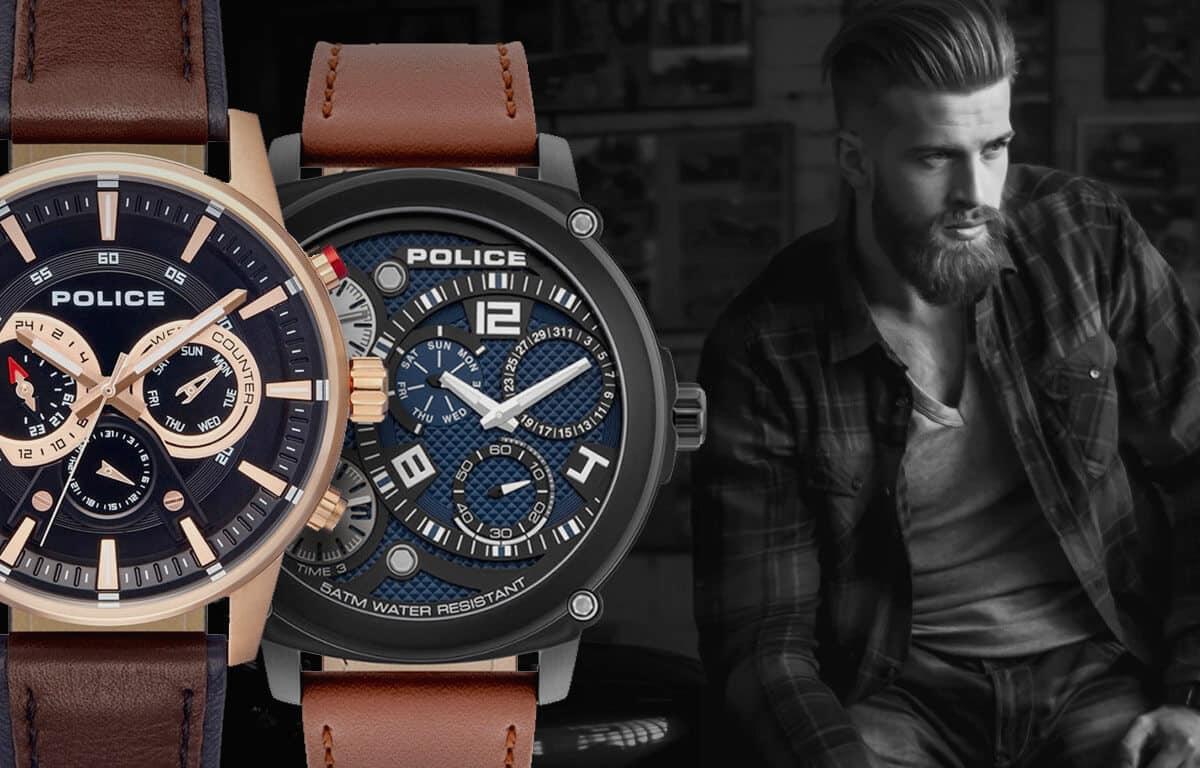Pánské hodinky Police - historie značky a modely