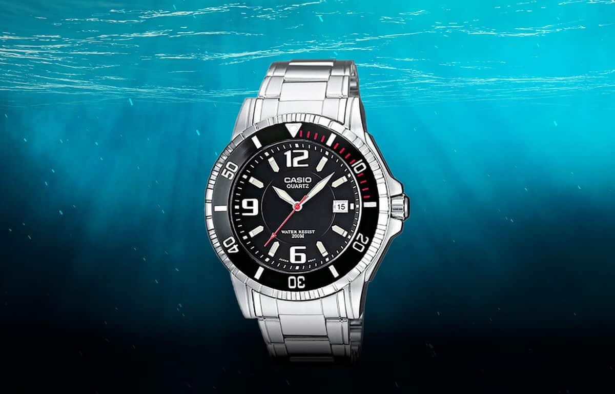 Lowcost model potápěčských hodinek od Casio (MTD-1053D-1AVES)