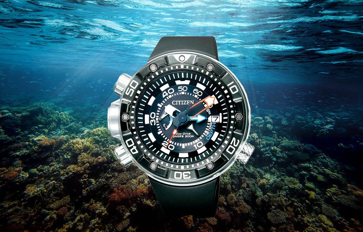 Potápěčské hodinky Citizen BN2024-05E s robustním pouzdrem