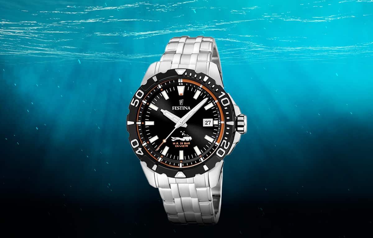 Levné pánské potápěčské hodinky Festina The Originals Divers