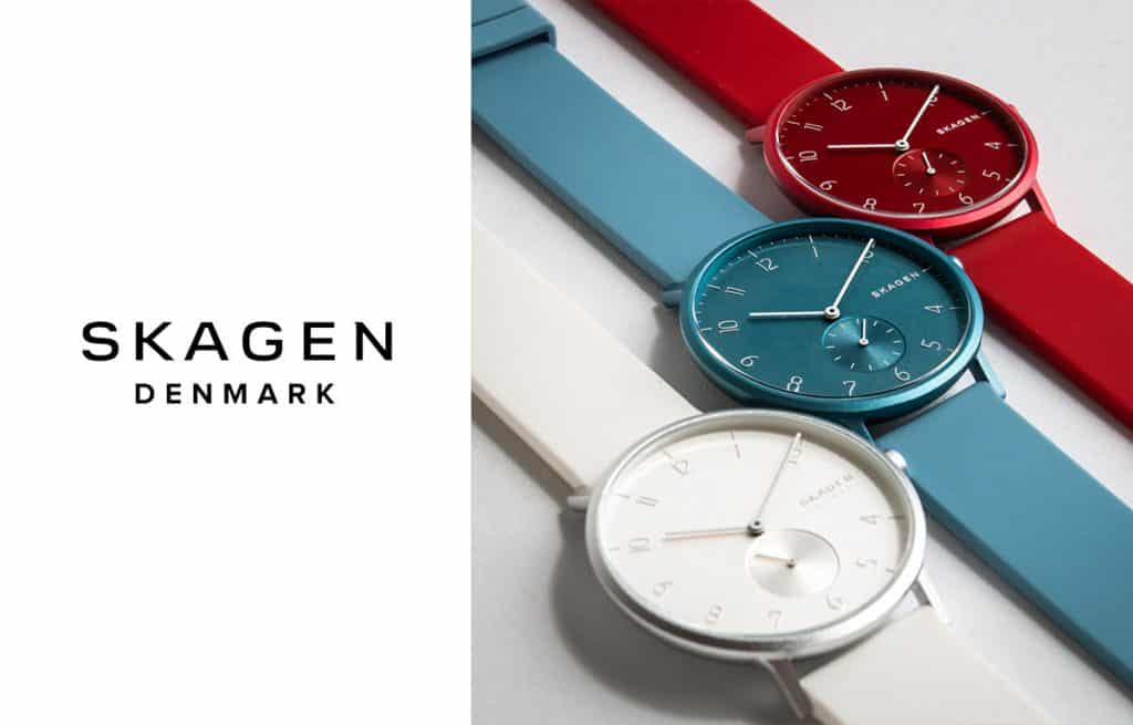 Skandinávská značka Skagen je součástí Fossil Group