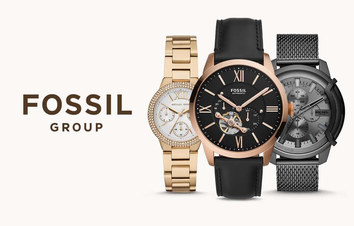 Fossil Group patří k jedněm z největších hodinářských domů na světě