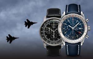 Vybrali jsme ty nejznámější značky leteckých hodinek - značky Longines, Breitling, Zeppelin, Vostok Europe