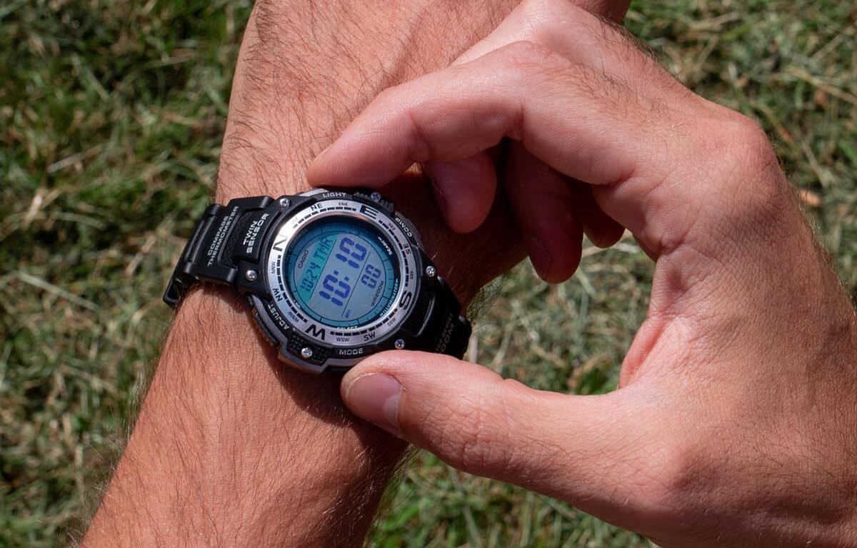 Levné hodinky Casio Pro Trek SGW-100-1VEF