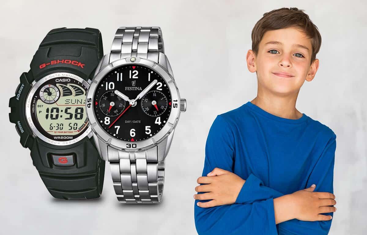 Poradíme vám s výběrem chlapeckých hodinek