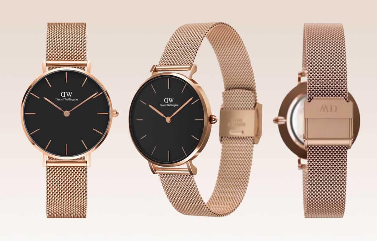 Levné dámské hodinky Daniel Wellington