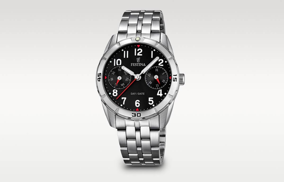 Skvělé chlapecké hodinky Festina s elegantním designem