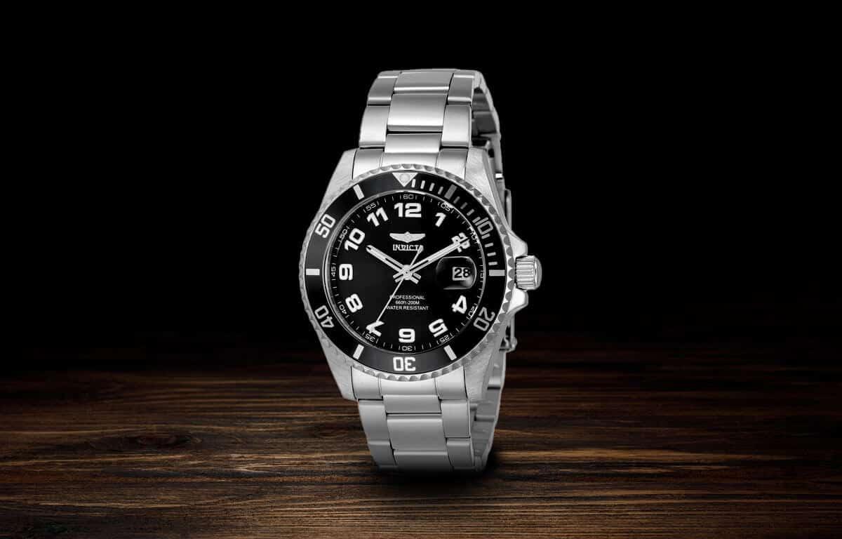 Stříbrné dámské hodinky Invicta Pro Diver
