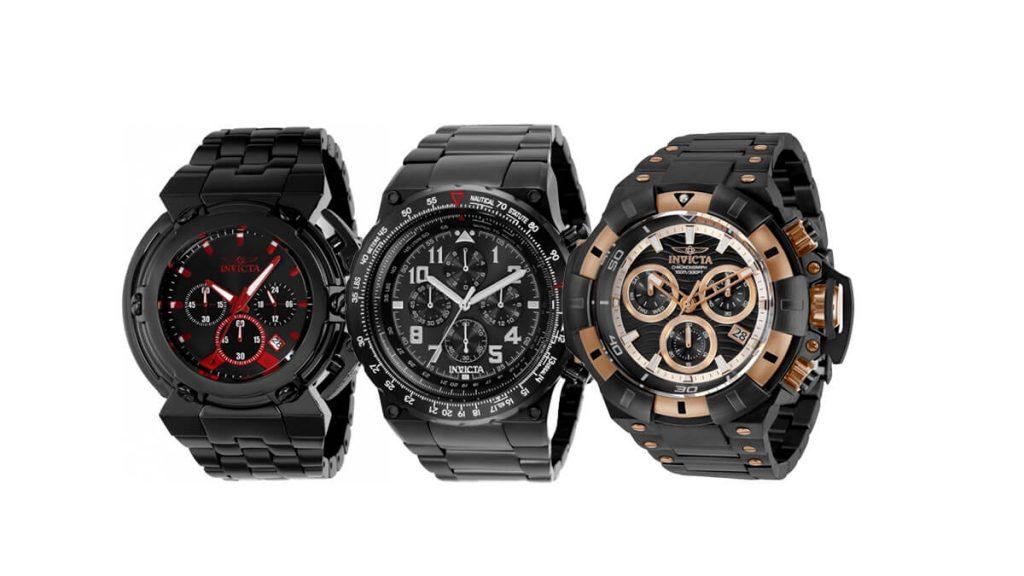 Nepřehlédnutelné pánské hodinky Invicta
