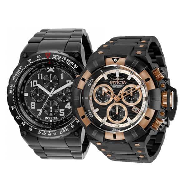 Pánské hodinky Invicta - edice Aviator a Akula
