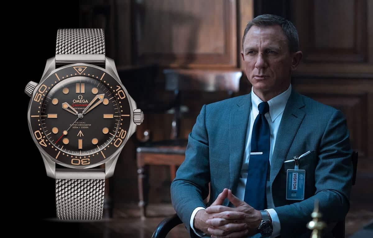 Slavné pánské hodinky Omega se objevily ve filmech o agentovi Jamesi Bondovi