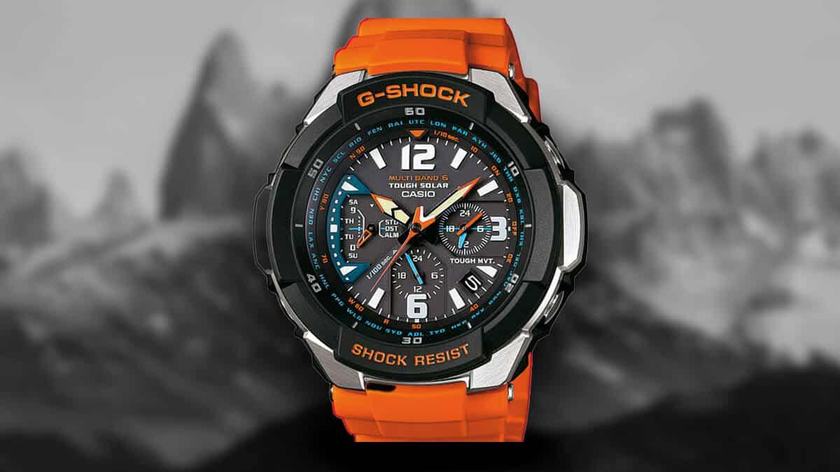 Odolné outdoor hodinky Casio GW-3000M-4AER