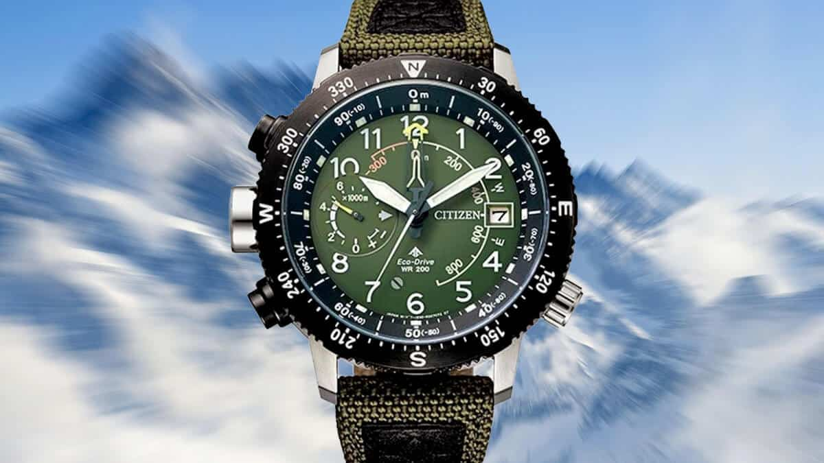 Japonské outdoor hodinky z edice Citizen Promaster Land