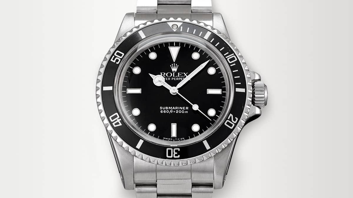 Známá edice hodinek Rolex - Rolex Submariner