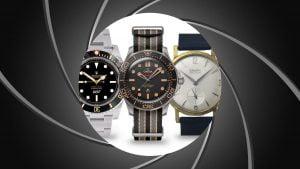 Představujeme značky hodinek, které se objevily ve filmech o Jamesi Bondovi