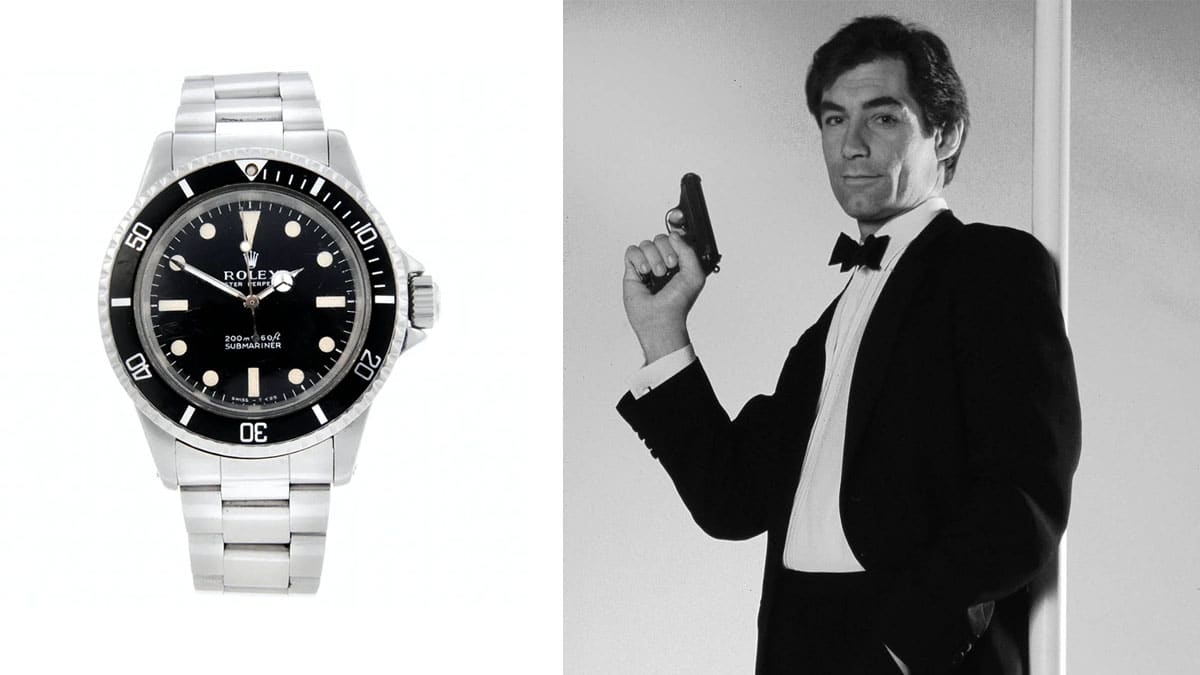 James Bond hodinky - Rolex Submariner / Timothy Dalton