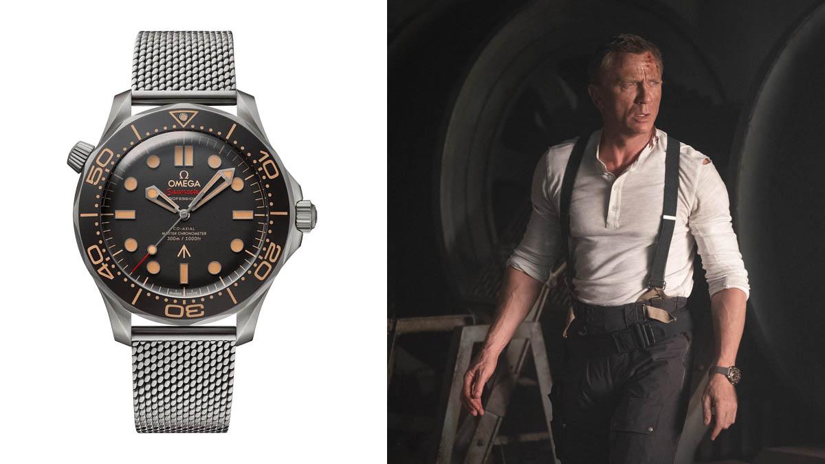 James Bond hodinky - Omega Seamaster Diver 300M 007 James Bond Watch